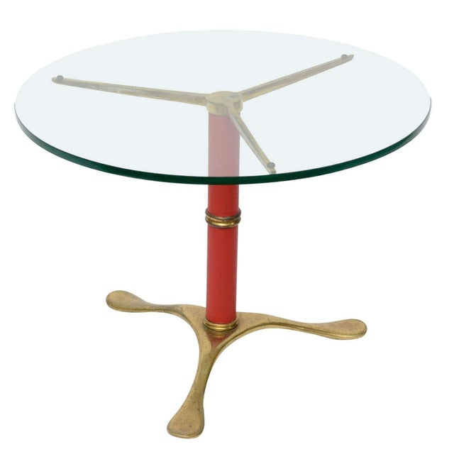 Paolo Buffa Brass Side Table - Image 1 of 4