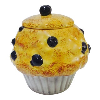 Pop Art Muffin Cupcake Jar