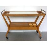 Image of Baker Mid-Century Bar Cart