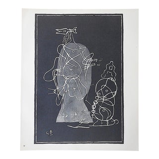 Mid 20th C. Modern Lithograph-Georges Braque