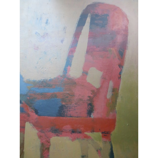 1959 Abstract Painting - Room With Chairs - Image 7 of 11