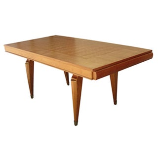 French Mid-Century Dining Table by Jean Pascaud