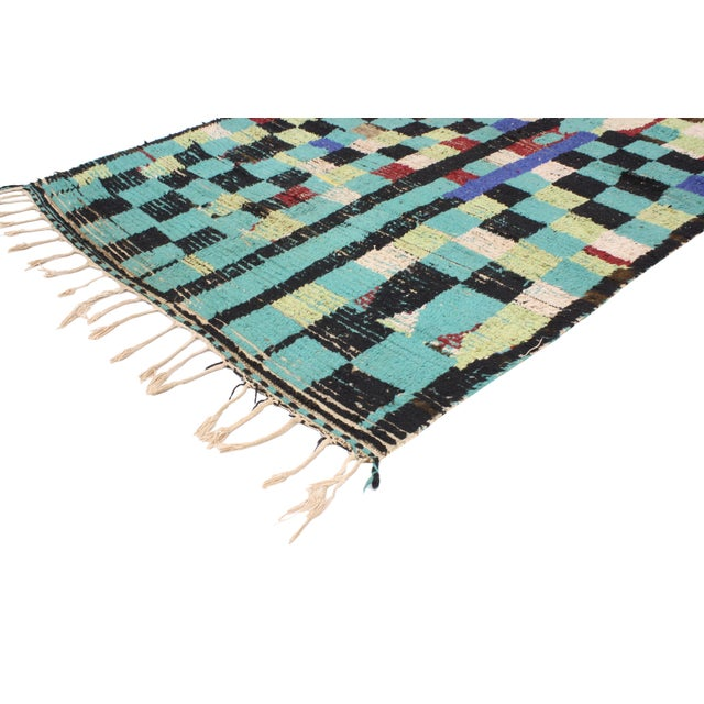 Boho Chic Vintage Berber Moroccan Rug with Modern Tribal Style, 04'05 x 07'06 - Image 3 of 9