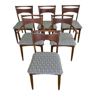 Danish Style BowTie Dining Chairs - Set of 6