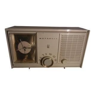 Vintage 1960s Motorola Clock Radio