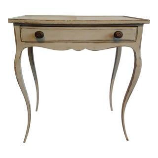 French Provincial Style Single Drawer Side Table
