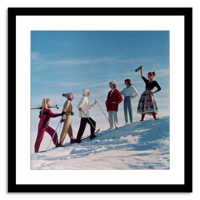 """Image of """"Skiing Party!"""" Photograph by Chaloner Woods"""