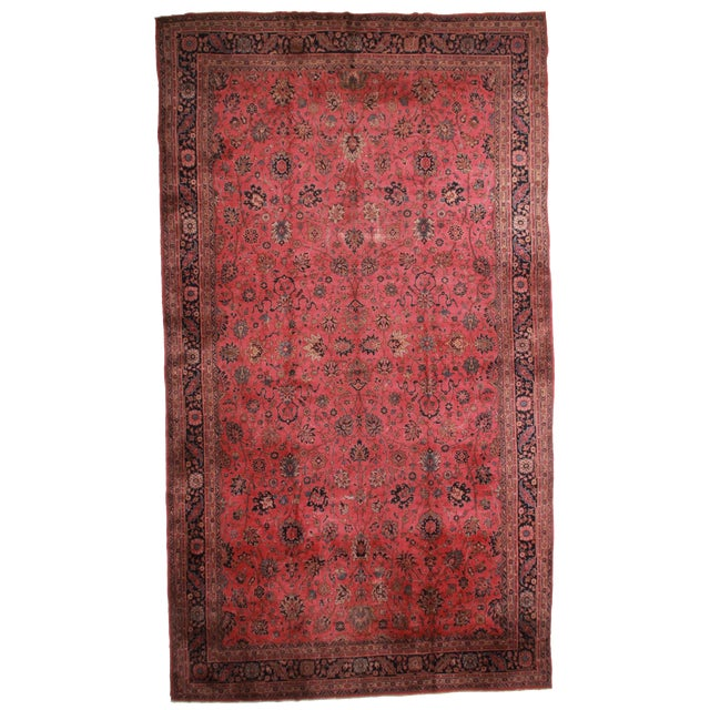 RugsinDallas Turkish Hand Knotted Wool Sparta Rug- 12′ × 21′ - Image 1 of 2
