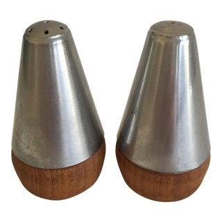 Danish Modern Salt & Pepper Shakers