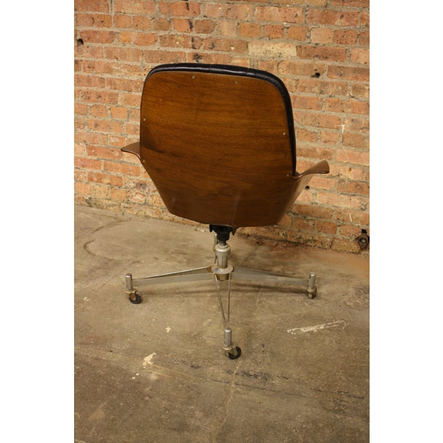 George Mulhauser Plycraft Bentwood Chair - Image 4 of 5