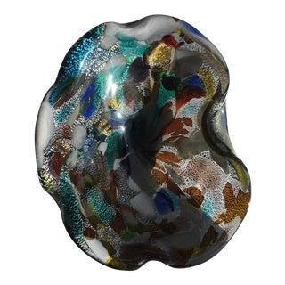 Dino Martens Murano Italian Art Glass Bowl