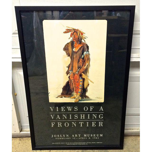 """Vintage Karl Bodmer """"Views of a Vanishing Frontier"""" Museum Poster - Image 2 of 6"""