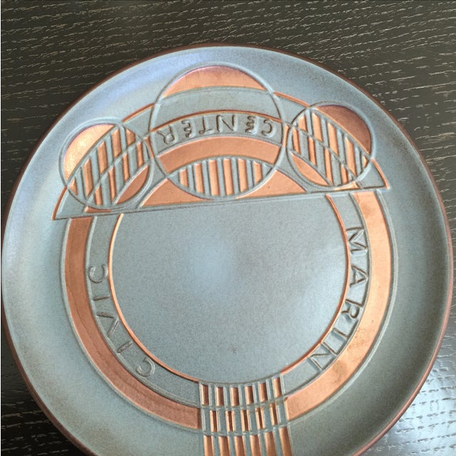 Heath Ceramics Frank Lloyd Wright Plate - Image 3 of 7
