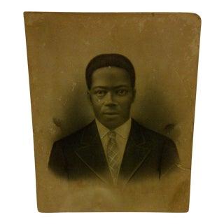 "Photograph ""Distinguished Black Gentleman"" Circa 1890."