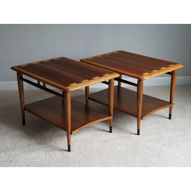 Image of Lane Mid-Century Acclaim Side Tables - A Pair