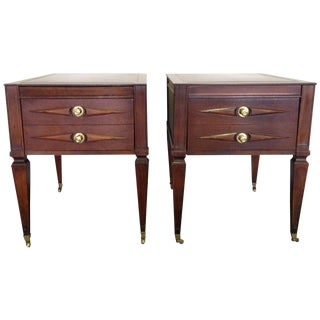 Montgomery Burns Side Tables - A Pair