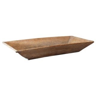 19th Century Large Swedish Trencher Bowl