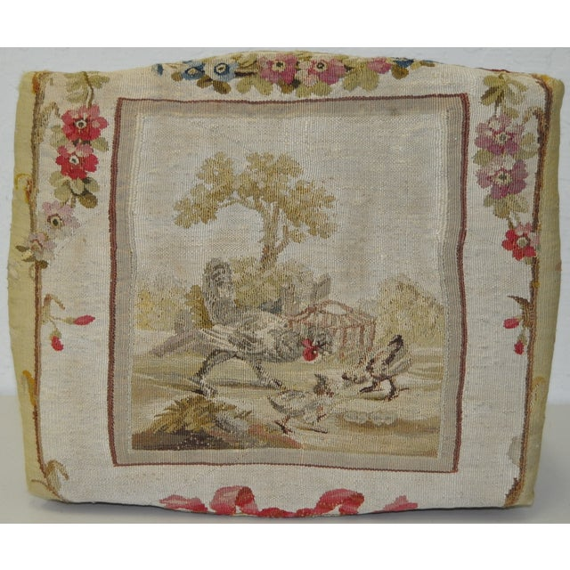 French Rococo Footstool 19th C. - Image 6 of 7