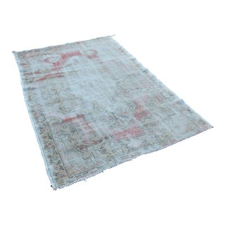 "Tribal Area Handmade Wool Carpet - 53"" x 80"""
