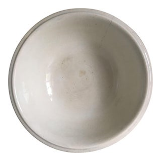 Large Antique Stoneware Bowl