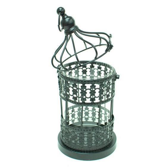 Metal Cage Lanterns - Set of 2 - Image 4 of 5