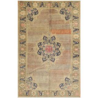 """Vintage Turkish Handmade Oriental Rug - 5'9"""" x 9'7"""""""