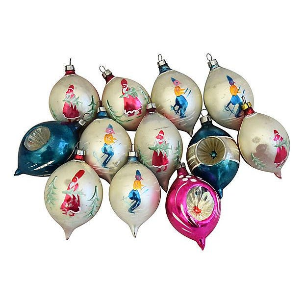 Christmas Ornaments Online Shopping Europe: European Fancy Indent Christmas Ornaments W/Box