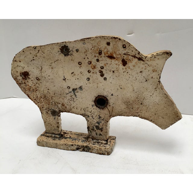 Image of Antique Carnival Shooting Target