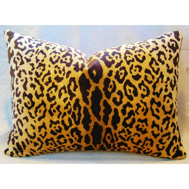 Scalamandre Cut-Velvet Leopardo Pillow - Image 2 of 8