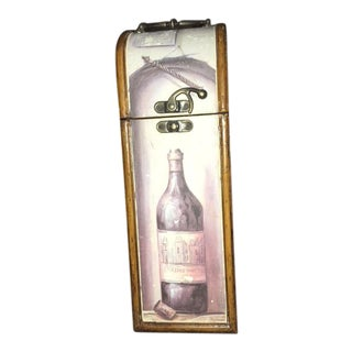 Antique Wooden Wine Box