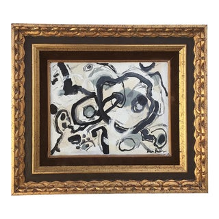 Framed Abstract Painting by Bryan Boomershine