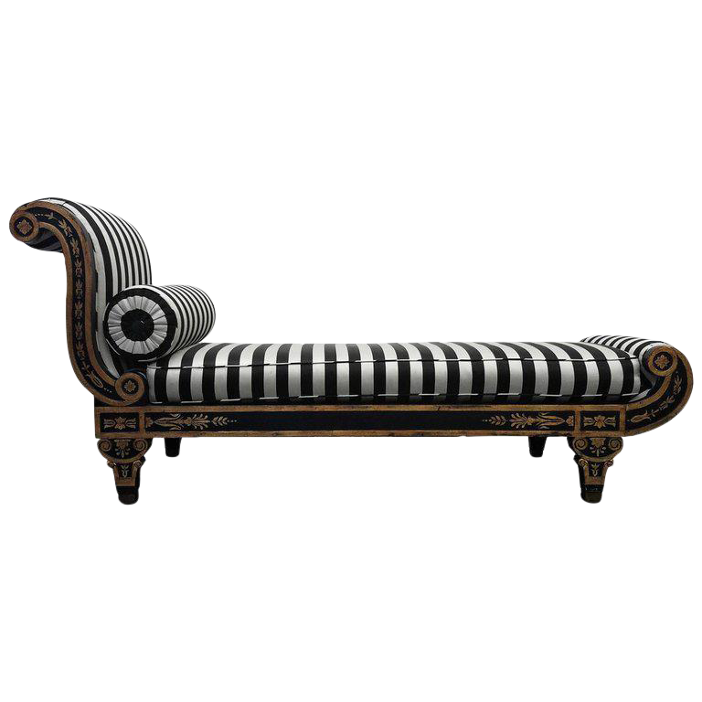 Vintage Regency Style Cleopatra Chaise Lounge Chair  sc 1 st  Chairish : chaise lounge vintage - Sectionals, Sofas & Couches