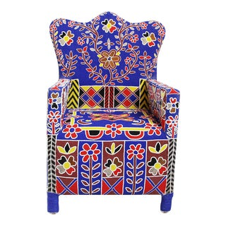 Beaded Yoruba Chief Chair