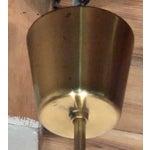 Image of Danish Chandelier W/Murano Glass Shade