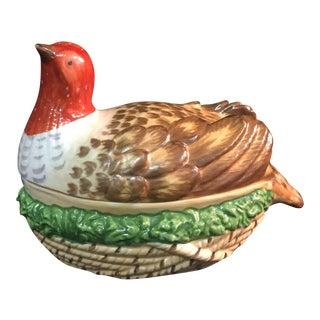 Sir Humphrey Wakefield Bird & Nest Lidded Serving Dish