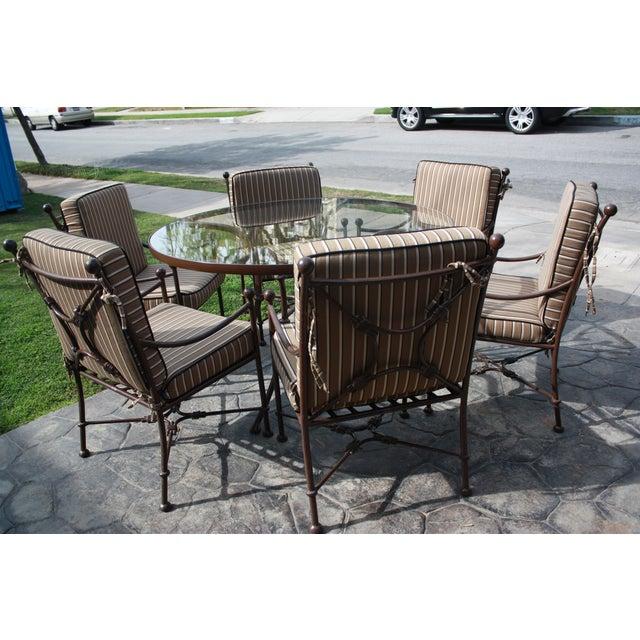 Sunbrella Cushion Outdoor Dining Set - Image 3 of 11