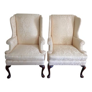 Wingback Chairs by Hickory Chair - A Pair