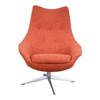 Mid-Century Swivel Chair by H. W. Klein for Bramin