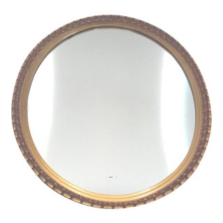 Regency Gilt Oval Wall Mirror