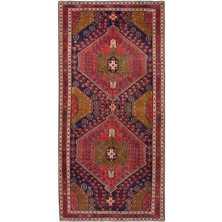"4'7"" x 9'7"" Sarab Vintage Persian Rug"