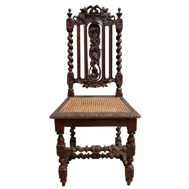 1880 Hunting Renaissance Dining Chairs - Set of 6 - Image 3 of 9