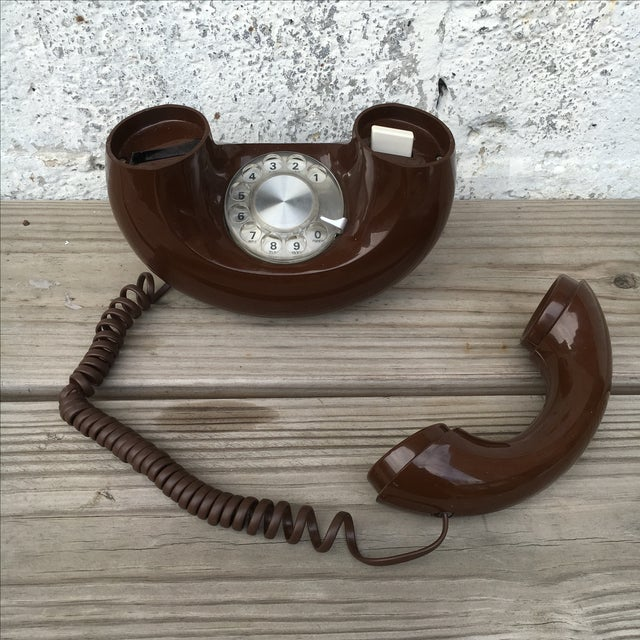 Midcentury Western Electric Donut Touch Tone Phone - Image 6 of 7