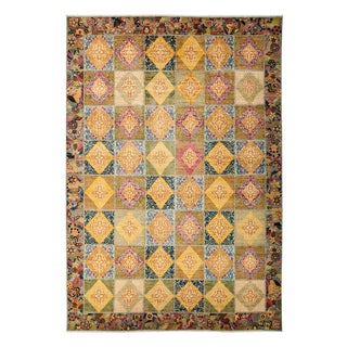 """Ziegler Hand Knotted Area Rug - 9'10"""" X 13'6"""""""