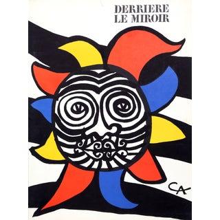 Alexander Calder, Soleil (Cover), Lithograph