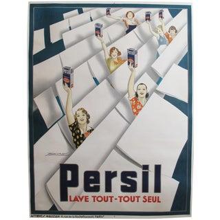 Original 1935 Mauzan French Poster, Persil