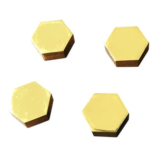 Brass World Away Knobs - Set of 4