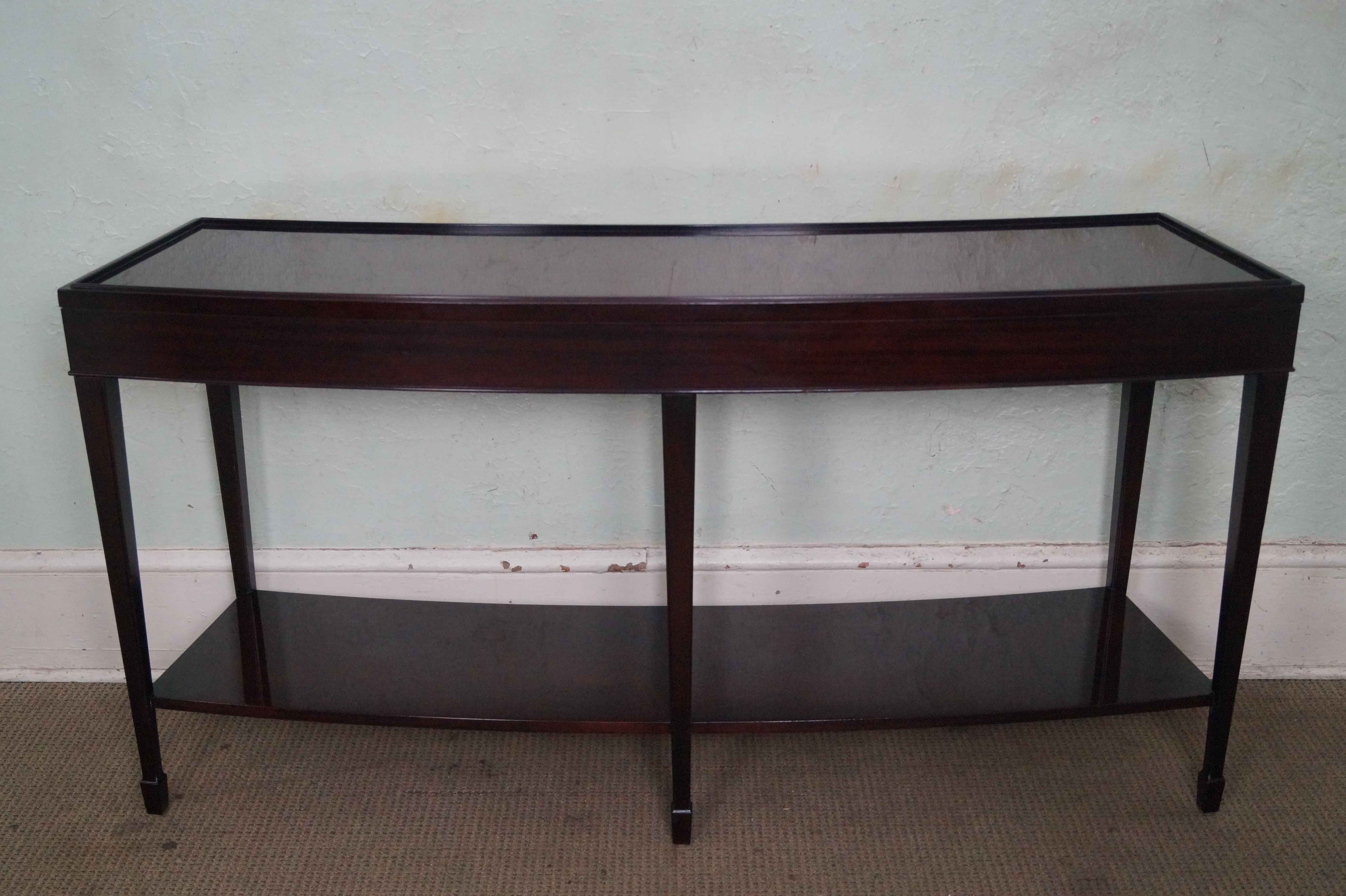 curved sofa tables sofa great curved table plans console tables thesofa