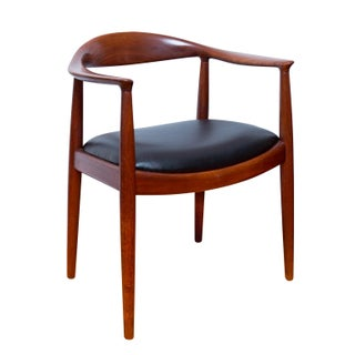 """Hans Wegner """"The Chair"""" in Teak"""
