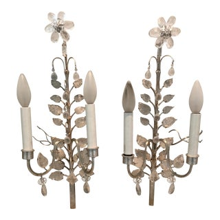 Chameleon Fine Lighting Floria Double Wall Sconces- A Pair