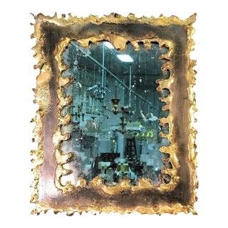 Paul Evans Style Brutalist Mirror